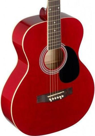 Stagg SA20A Acoustic Guitar, Red
