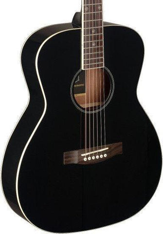 James Neligan BES-A Acoustic Guitar, Black