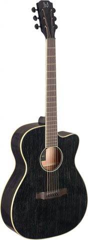 James Neligan YAK-ACFI Electro Acoustic Guitar, Doghair