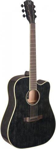 James Neligan YAK-DCFI Electro Acoustic Guitar, Doghair
