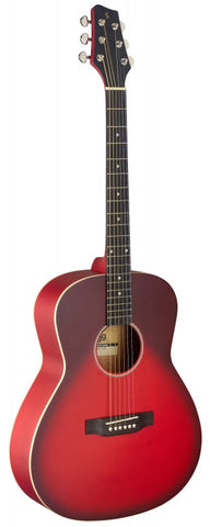 Stagg SA35 Auditorium Acoutic Guitar Red Burst