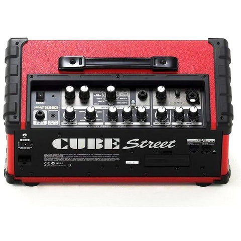 Roland CUBE STREET Guitar Combo, Red, 5w