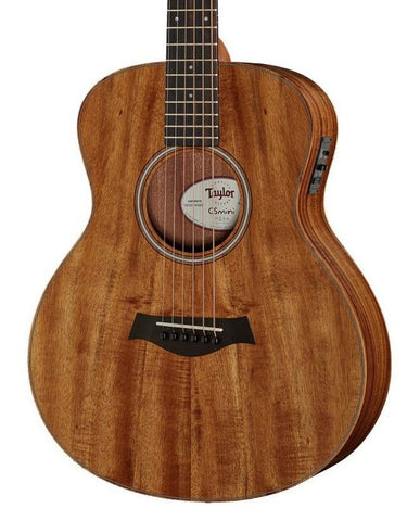 Taylor GS Mini-E Koa Left Handed Electro Acoustic Guitar