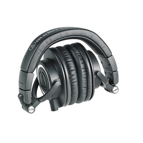 Audio Technica  ATH-M50X Pro Headphones,  Black