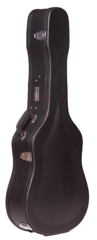 Freestyle Hard-Shell Wood Case for Dread/12 string Guitars
