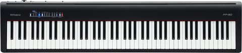 Roland FP-30 Portable Piano, Black