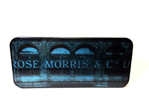 Rose Morris Pick Tin, Building
