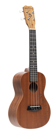 Islander MC-4 Concert Uke Mahogany with Honu Turtle