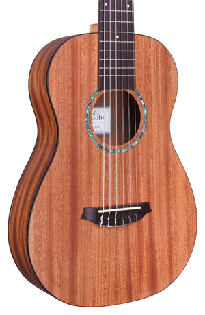 Cordoba Mini II Mahogany Travel Classical Guitar