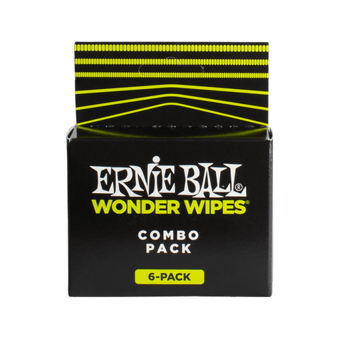 Ernie Ball 4279 Body Instrument Care Kit Wonder Wipes