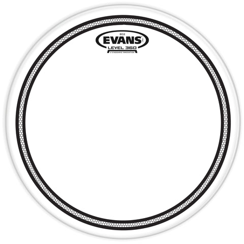 Evans EC2 Clear Drum Head - 10