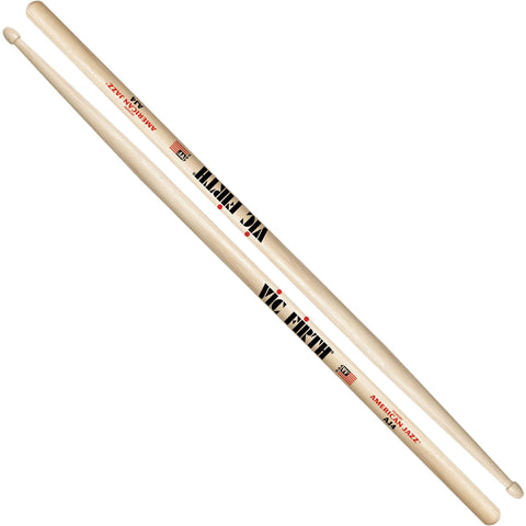 Vic Firth American Jazz 4 Wood Tip Drumsticks