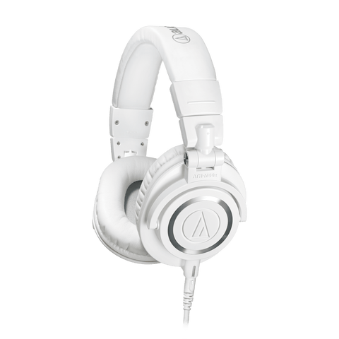 Audio Technica  ATH-M50X Pro Headphones, White