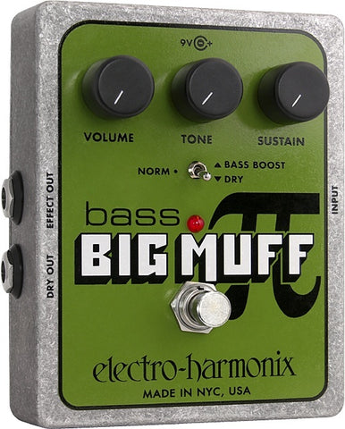 Electro Harmonix Bass Big Muff Distortion / Sustainer -  - ROSE MORRIS - Bass Guitar FX