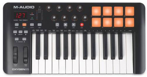 M-Audio Oxygen 25 Keyboard Controller -  - ROSE MORRIS - Controller Keyboards - 1