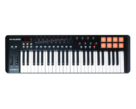 M-Audio Oxygen 49 - Controller Keyboard -  - ROSE MORRIS - Controller Keyboards