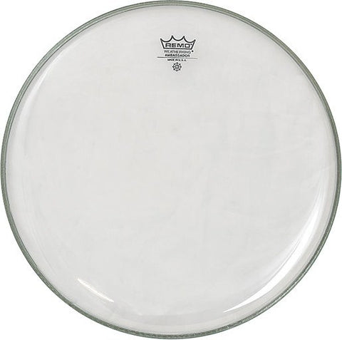 Remo Clear Ambassador Head' -  - ROSE MORRIS - Drum Heads