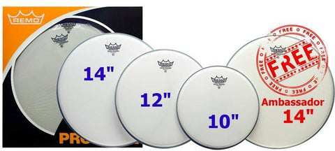 Remo Coated Emperor Fusion Pro Pack -  - ROSE MORRIS - Drum Heads