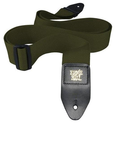 Ernie Ball 4048 Polypro Guitar Strap Olive