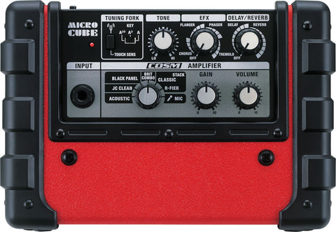 Roland Micro Cube GX Guitar Amplifier, Red -  - ROSE MORRIS - Electric Amps - 2