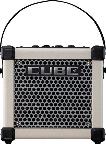 Roland Micro Cube GX Guitar Amplifier, White -  - ROSE MORRIS - Electric Amps - 1