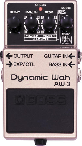 BOSS AW3 Auto Wah Pedal -  - ROSE MORRIS - Electric Guitar FX