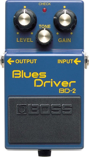 BOSS BD2 Blues Driver Distortion Pedal -  - ROSE MORRIS - Electric Guitar FX