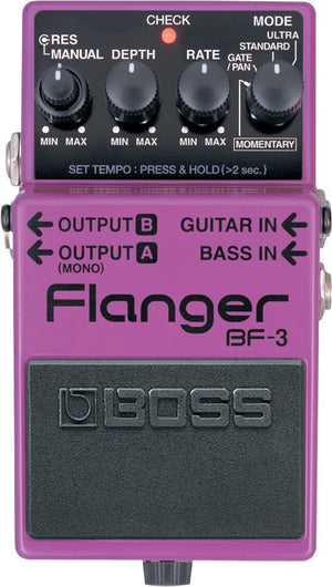 BOSS BF3 Flanger Effect Pedal -  - ROSE MORRIS - Electric Guitar FX