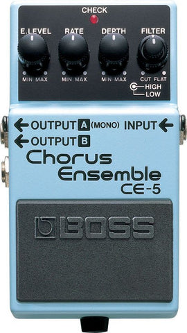 BOSS CE5 Chorus Ensemble Pedal -  - ROSE MORRIS - Electric Guitar FX