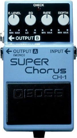 BOSS CH1 Super Chours Pedal -  - ROSE MORRIS - Electric Guitar FX
