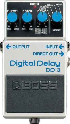 BOSS DD3 Digital Delay Pedal -  - ROSE MORRIS - Electric Guitar FX