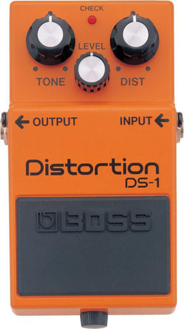 BOSS DS1 Distortion/Overdrive Pedal -  - ROSE MORRIS - Electric Guitar FX