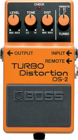BOSS DS2 Turbo Distortion Pedal -  - ROSE MORRIS - Electric Guitar FX
