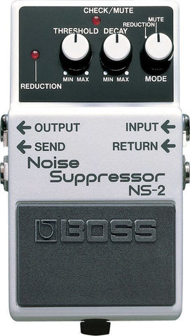 BOSS NS2 Noise Suppressor Pedal -  - ROSE MORRIS - Electric Guitar FX