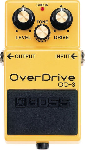 BOSS OD3 Overdrive FX Pedal -  - ROSE MORRIS - Electric Guitar FX