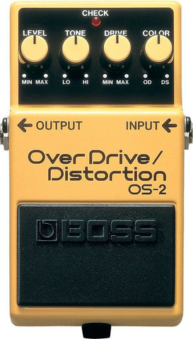 BOSS OS2 Overdrive/Distortion FX Pedal -  - ROSE MORRIS - Electric Guitar FX
