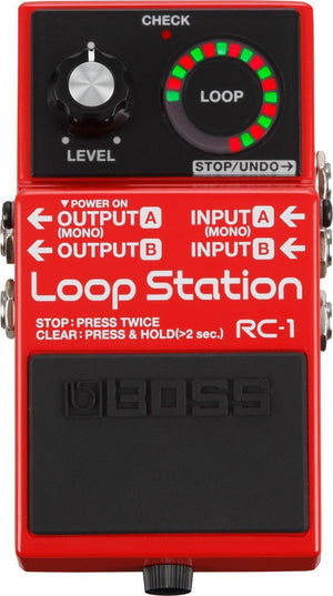 BOSS RC-1 Loop Station -  - ROSE MORRIS - Electric Guitar FX