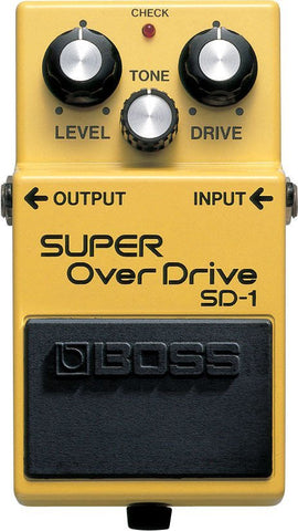 BOSS SD1 Super Overdrive Pedal -  - ROSE MORRIS - Electric Guitar FX