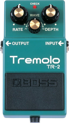 BOSS TR2 Tremolo Effect Pedal -  - ROSE MORRIS - Electric Guitar FX
