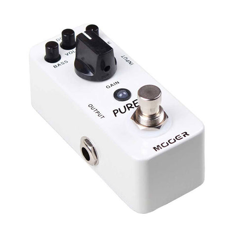 Mooer MBT2 Pureboost Boost Pedal -  - ROSE MORRIS - Electric Guitar FX