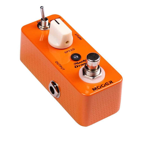 Mooer MPH1 Ninety Orange Phaser Pedal -  - ROSE MORRIS - Electric Guitar FX