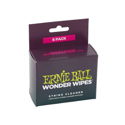 Ernie Ball 4277 String Cleaner Wonder Wipes
