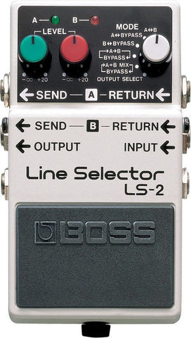 BOSS LS2 Line Selector A/B Switch -  - ROSE MORRIS - Footswitches