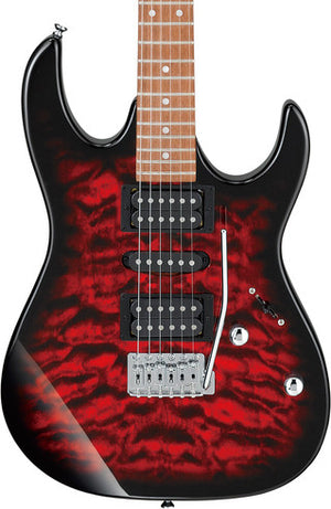 Ibanez GRX70QA-TRB Gio RX Transparent Red Burst