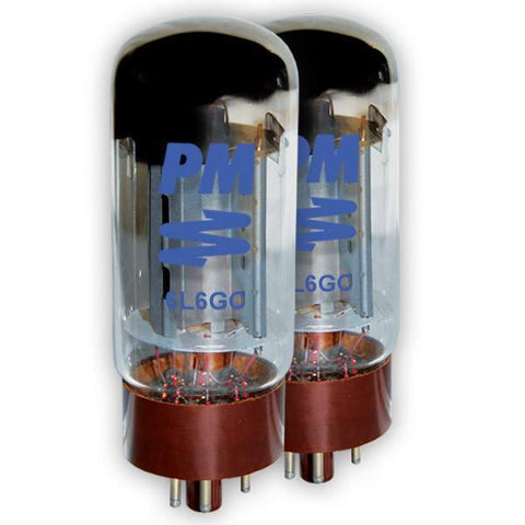 PM Guitar Tubes 6L6 PREMIUM  Power Tube - Boxed as a Pair (2) -  - ROSE MORRIS - Guitar Amp Tubes