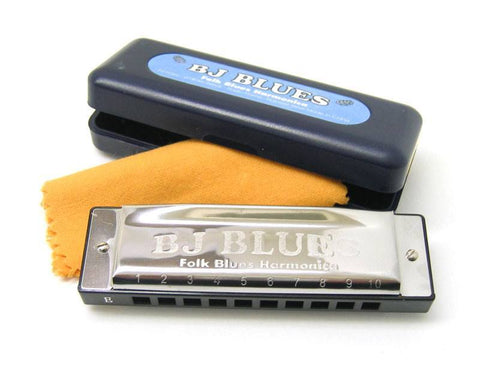 BJ Blues Harmonica -  - ROSE MORRIS - Harmonicas - 1