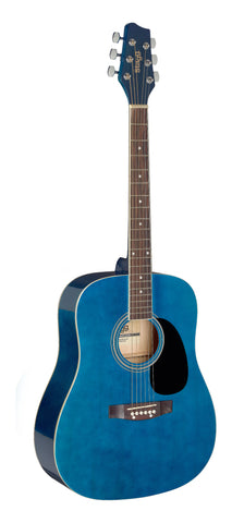 Stagg SA20D 3/4 Size Acoustic Guitar Blue