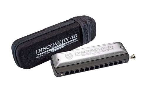 Hohner Discovery 48 Chromatic Harmonica