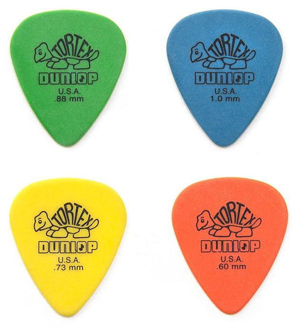 Jim Dunlop Tortex Standard Picks, Pack of 12
