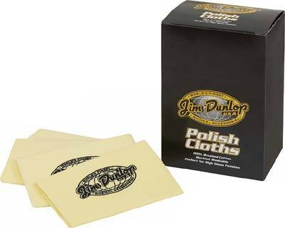 Jim Dunlop Polishing Cloth -  - ROSE MORRIS - Instrument Care